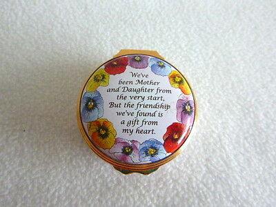 Halcyon Days Mother and Daughter Friends Enamel Box