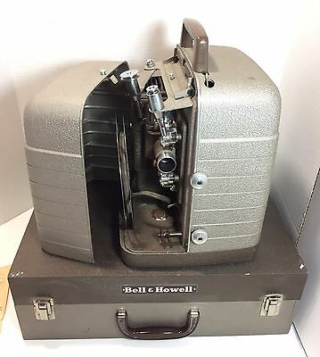 BELL & HOWELL Model 253A 8mm Film MOVIE PROJECTOR with LIGHT VTG