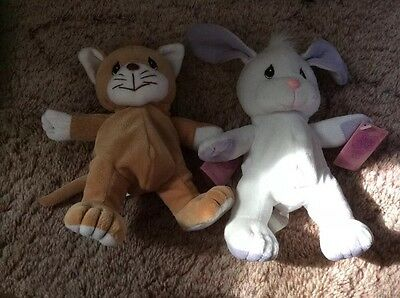 Precious Moments Tender Tails Lot of 2 - NWT!