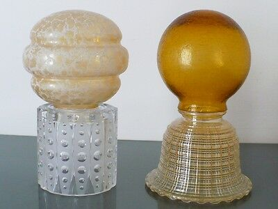 Vintage Glass Light Shades - $19 each
