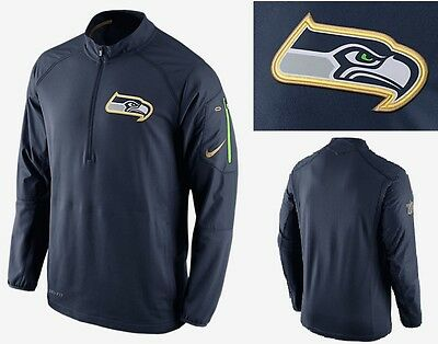 🏈 90 Men S SEATTLE SEAHAWKS 🏈Nike NFL OnField Championship Drive Hybrid  Jacket 4b9a72cc4