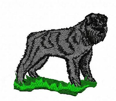 Bouvier des Flandres  Embroidery Patch (full body) Auction