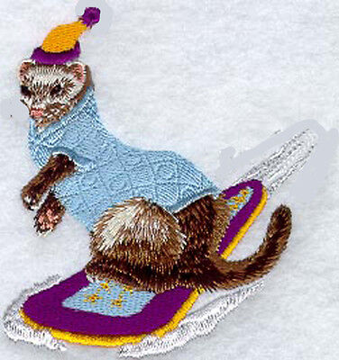 Ferret (snowboard) Embroidery Patch