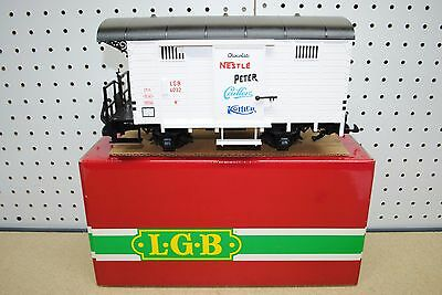 LGB 4032 Nestle, Peter, Caillers, Kohler Chocolate Box Car *G-Scale* NEW