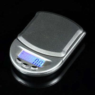 Portable 500g x 0.1g Digital Scale Jewelry Pocket Balance Gram LCD Herb Gold