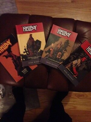 Hellboy 1 3 4 5 Lot Mignola Dark Horse