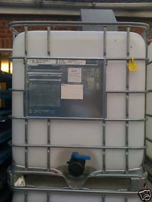 1000 Litre White IBC Tank / Container *REDUCED PRICE*