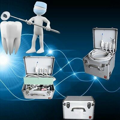 New Dental mini Portable Delivery Unit 3 Way Syringe Suction System For Dentist