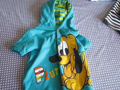 childs pluto hooded top, 6-9 months