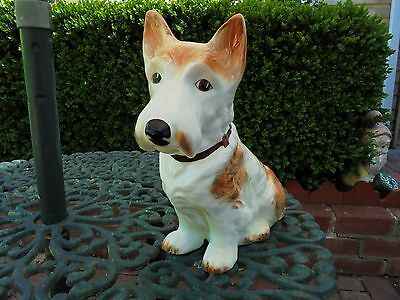 Huge Vintage Sylvac Mac 1209 Terrier Dog - The Largest Size - Perfect