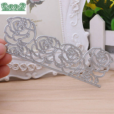 Roses Cutting Dies Stencil DIY Album Novelty Diary Scrapbooking Craft Paper Card