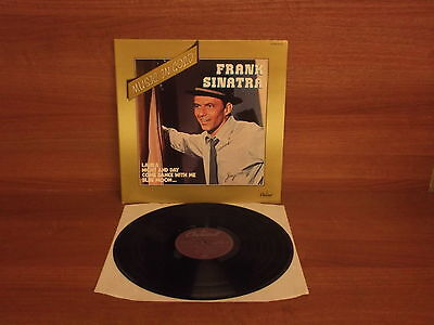 FRANK SINATRA : Music in Gold : Vinyl Album : Capitol : 2S 068-81263 : Gatefold