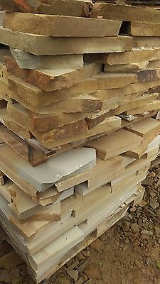 Crazy Paving - Sawn or Riven Stone