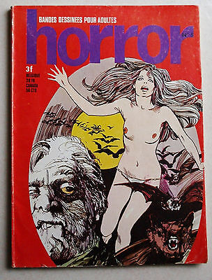 Horror N° 8 Les Editions de Poche 1972
