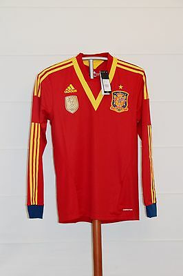 Camiseta Futbol España 2013 NUEVA Shirt Football Spain BNWT Talla L *FORMOTION*