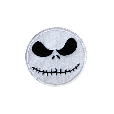 Embroidered Jack Skellington The Nightmare Before Christmas Sew & Iron On Patch