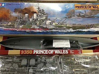 Tamiya 78011 1/350 Battleship British Prince of Wales