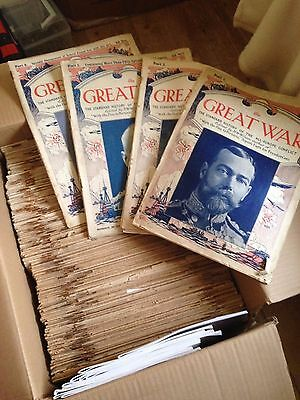 (Almost) Complete set of The Great War magazine (c. 196 copies)