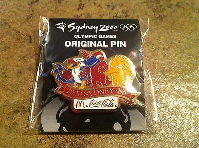 McDonald's / Coca Cola-Pin Sidney 2000 Olympic Games