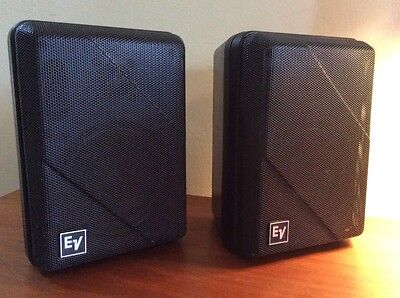 EV Electrovoice Outdoor Speakers.