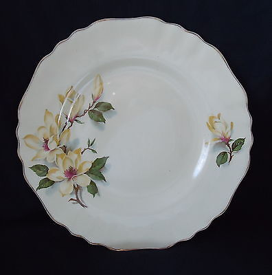 """J & G Meakin Side plate & Saucer   """" Yellow Magnolia """" Rare . 1930's"""