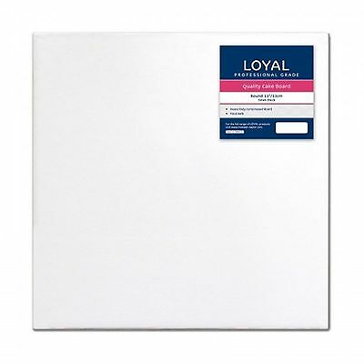 "Loyal White Square 33cm / 13"" Cake Board"