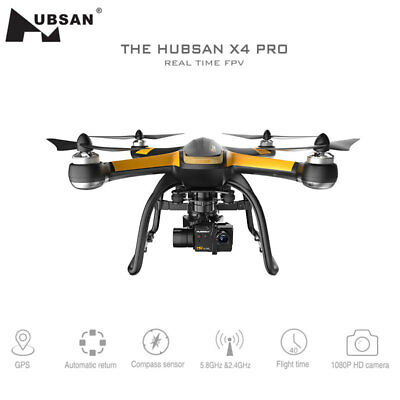 Hubsan H109S X4 PRO 5.8G FPV 1080P HD Camera GPS 7CH RC Quadcopter 1-axis Gimbal