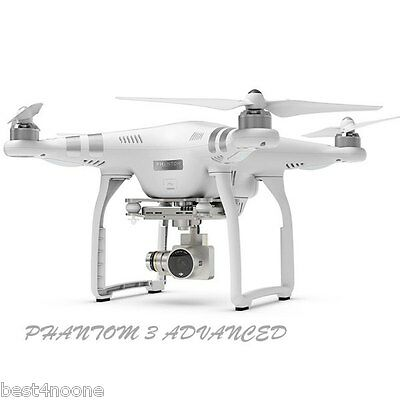 DJI Phantom 3 RC Quadcopter Drone Advanced FPV with HD 1080p Camera RTF 3-Axis