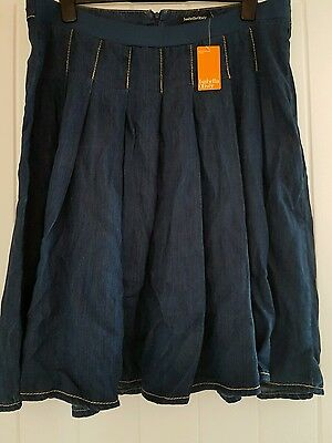 Isabella Oliver maternity denim skirt size 5