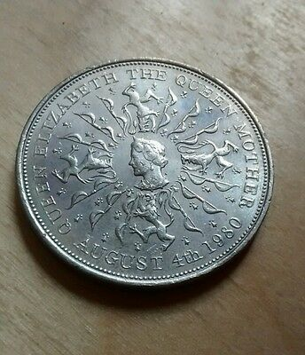 Queen Elizabeth The Queen Mother 4th August 1980 Coin Rare Midland