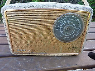 Vintage Perdio Radio Transistor Solid State MW LW Working 1950's Collectable