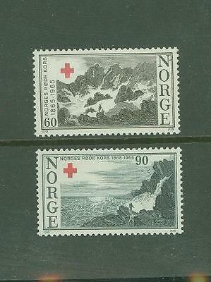 T 093 1965 Norway Red Cross (MNH) set