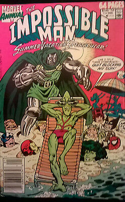 The Impossible Man #1 A Summer Vacation Spectacular-Marvel Comics