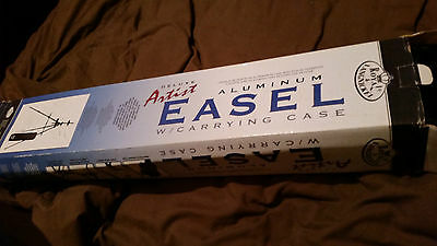 Royal and Langnickel Deluxe Artist Aluminum Easel boxed with carry bag