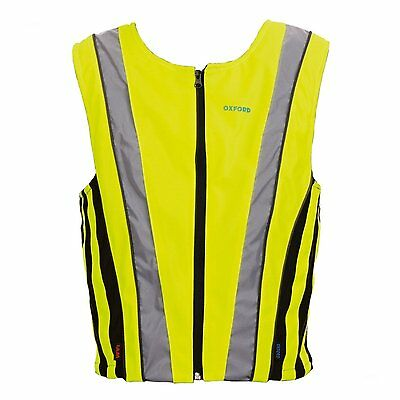 Oxford Warnweste Brighttop Active Fluogelb Yellow Reflective Atmungsaktiv