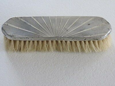 Art Deco - Silver Clothes Brush - circa 1920's
