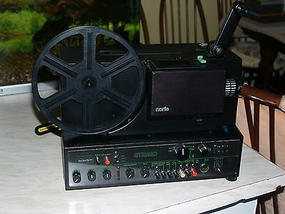 NORISOUND 342 8mm sound projector. Stereo. One of the best projectors ever made