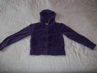 Girls Hoodie/hoody Top - Purple (Cherokee 6-7 Years)