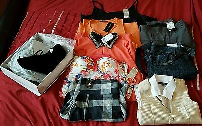 joblot of mens womens and kids clothes all new