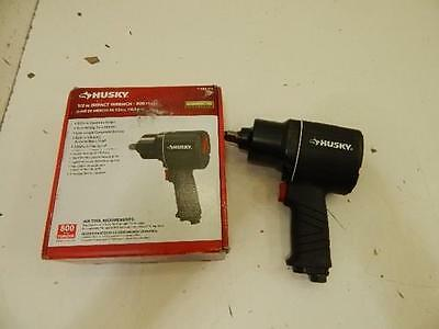 """Husky 683214 Pneumatic Powered 1/2"""" Impact Wrench Tool 577966 L20"""