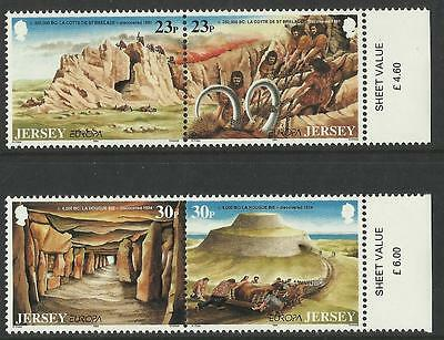 Jersey - Europa - Archeological Discoveries - Set - 1994 - MNH