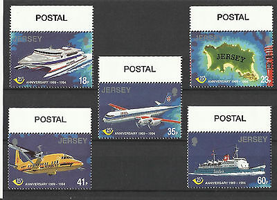 Jersey - 25th Anniv of Jersey Postal Administration - Set - 1994 - MNH
