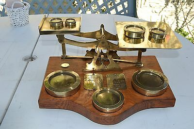 Antique Postal Weigh Scales