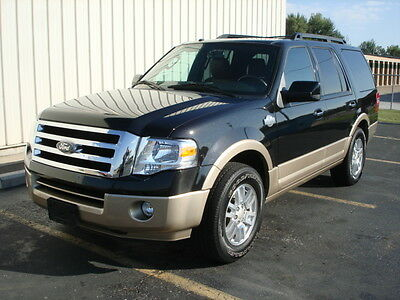 2012 Ford Expedition King Ranch Sport Utility 4-Door 2012 Black Ford Expedition King Ranch, RWD, Great Options