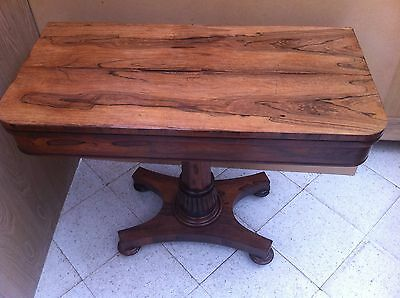 Rosewood Games/Card/Side Table