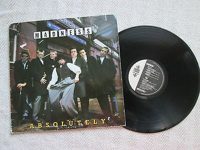 MADNESS Absolutely LP SEEZ 29 + inner uk Stiff records 1980