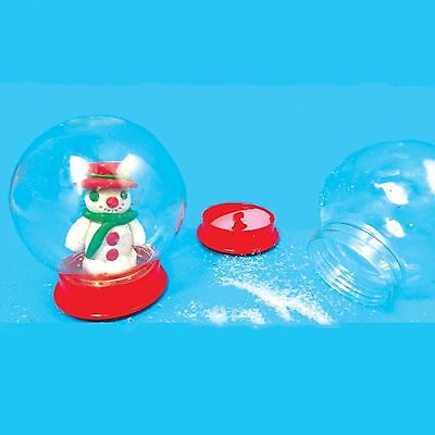 Make Your Own Snow Globe - Xmas, DYO, Christmas Activity, Arts & Crafts, Kids