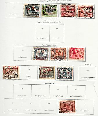Haiti stamps 1917 Collection of 11 CLASSIC stamps  HIGH VALUE!