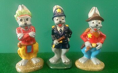 WADE ARTHUR HARE COLLECTION LIMITED EDITION FIGURINES WITH Certificates MINT