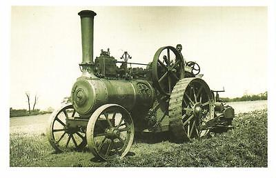 Postcard Nostalgia c1910 Traction Engine R.S & J Eight NHP Reproduction Card